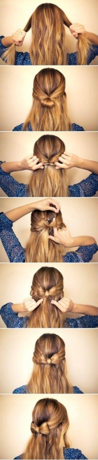 Fiyonk saç yapımı