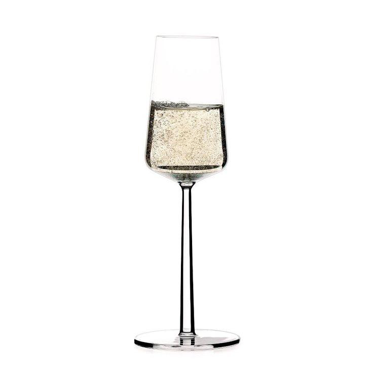 iittala. essence champagneglass.