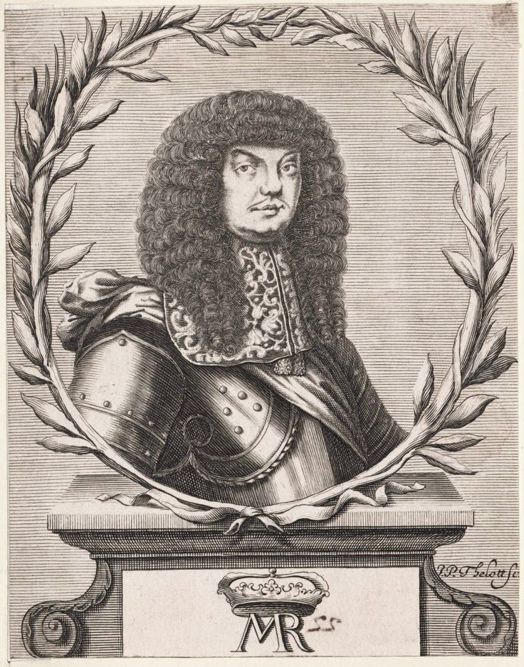 King Michael Korybut Wiśniowiecki by Philip Jacob Thelott the Elder, 1670-1673 (PD-art/old), Österreichische Nationalbibliothek