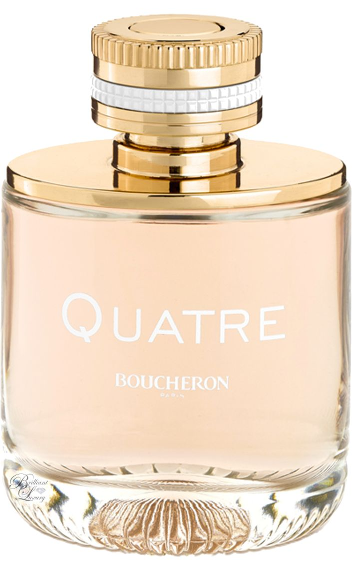 The best scent I've ever smelled! Fave perfume ever!!!  Brilliant Luxury * Boucheron Paris ~ Quatre For Women #Fragrance