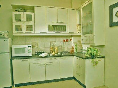 How to Create Small Kitcen Look Large and Spacious with White Color