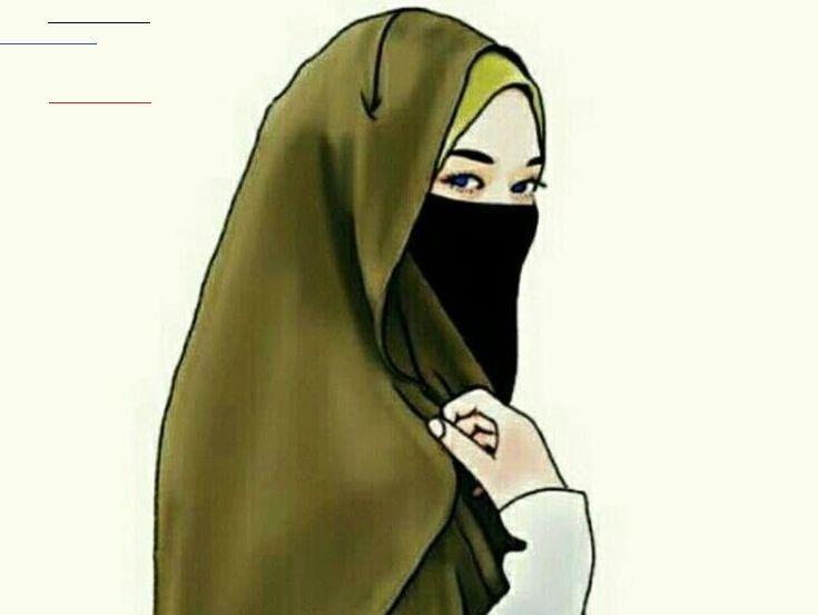 Menakjubkan 22 Gambar Kartun Hijab Lucu 2019 30 Gambar Kartun Muslimah Bercadar Syari Cantik Lucu Terba Cartoon Girl Images Cute Cartoon Images Hijab Cartoon