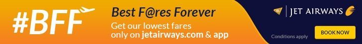 New Offers and Deals: 15% Off SALE on Jet Airways Flights from France  BOOK NOW  Up to 15% off Flights from France to all destinations  Jet Airways  T&C:  Offer valid from 05 to 07 May 2017  Travel must commence on and after 5 May  Save  http://ift.tt/2q6vwC1