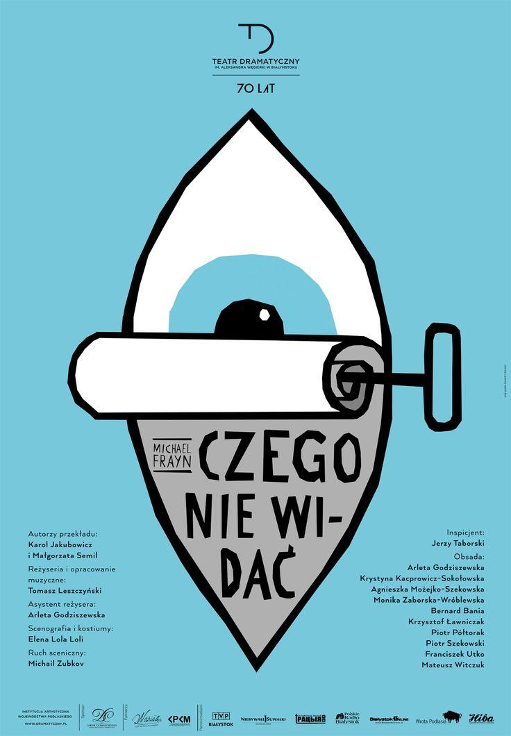 """""""Czego nie widać"""", Michael Frayn, reżyseria: Tomasz Leszczyński, premiera: 3 stycznia 2015 r. więcej informacji: http://dramatyczny.pl/spektakl/czego-nie-widac-2/"""