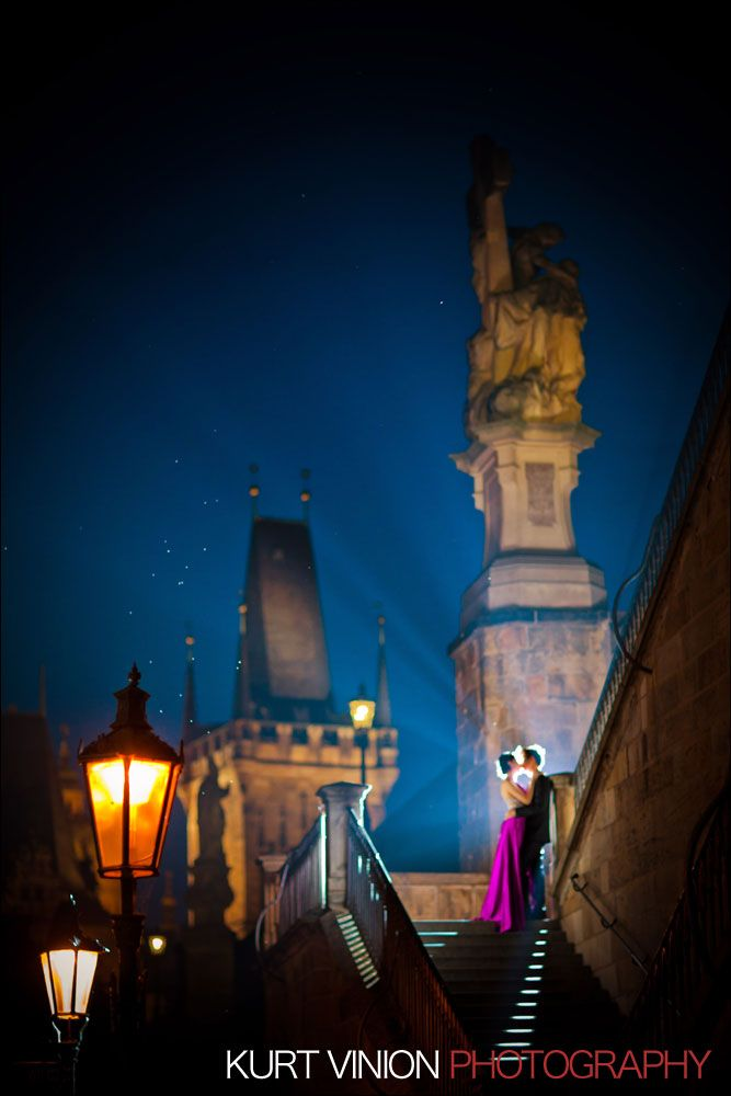 {Prague Pre-Wedding Photographers} Janice & Joel's Romantic Pre-Wedding Portraits in Prague!