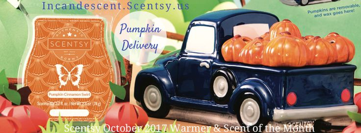 OCTOBER 2017 – Buy Scentsy® Online | Scentsy Warmers and Scents | Incandescent.Scentsy.us