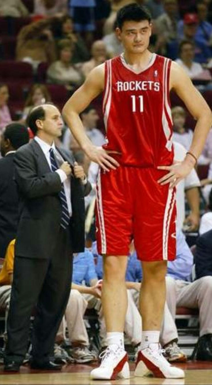 Yao Ming was selected to start for the Western Conference in the NBA All-Star Game eight times, and was named to the All-NBA Team five times. At the time of his final season, he was the tallest active player in the NBA, at 2.29 m (7 ft 6 in).He is also the only player outside of the US to lead the NBA All-Star voting.Yao is one of China's best-known athletes, with sponsorships with several major companies