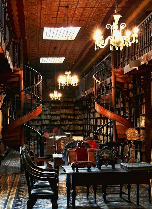 Library, London, England photo via jennie