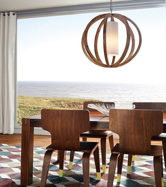 Allier Large Pendant Light, by the USA's Feiss