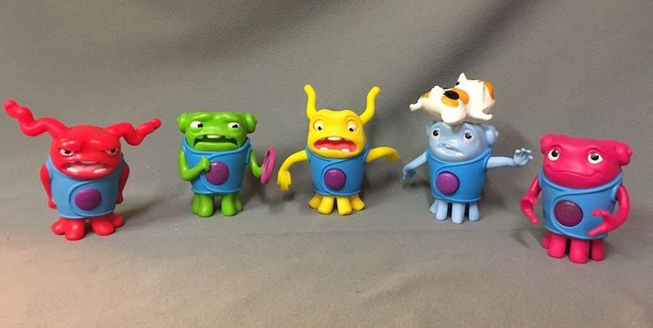 Home Movie Toys- McDonalds Happy Meal Lot Of 5 #McDonalds