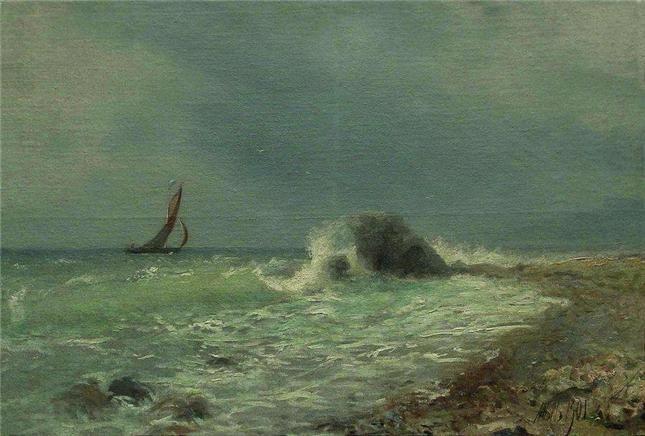 Лагорио Л.Ф. Прибой 1901