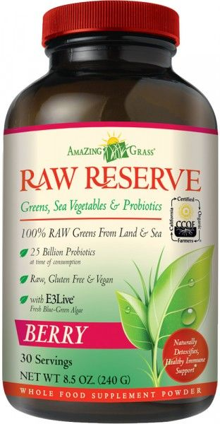 Amazing Grass - Raw Reserve Berry - 240g