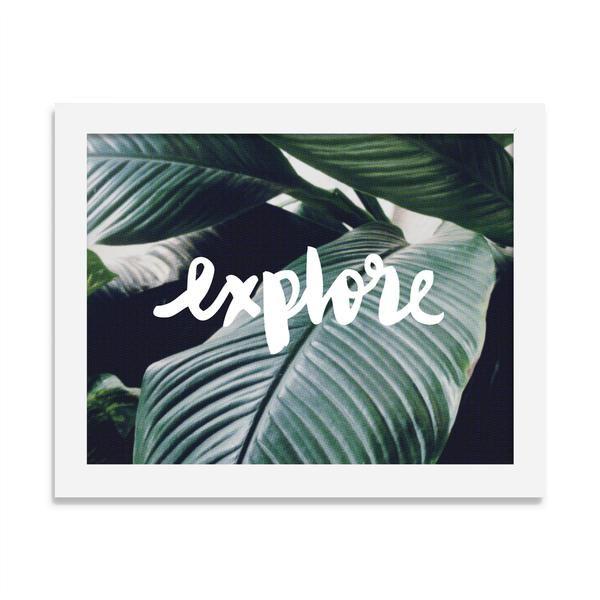 explore - 8 x 10 print - JustGreet