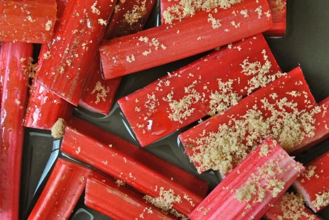 Roasting rhubarb is just as easy as the traditional method of stewing, but the results are worlds apart with an intense flavour and bright colour.