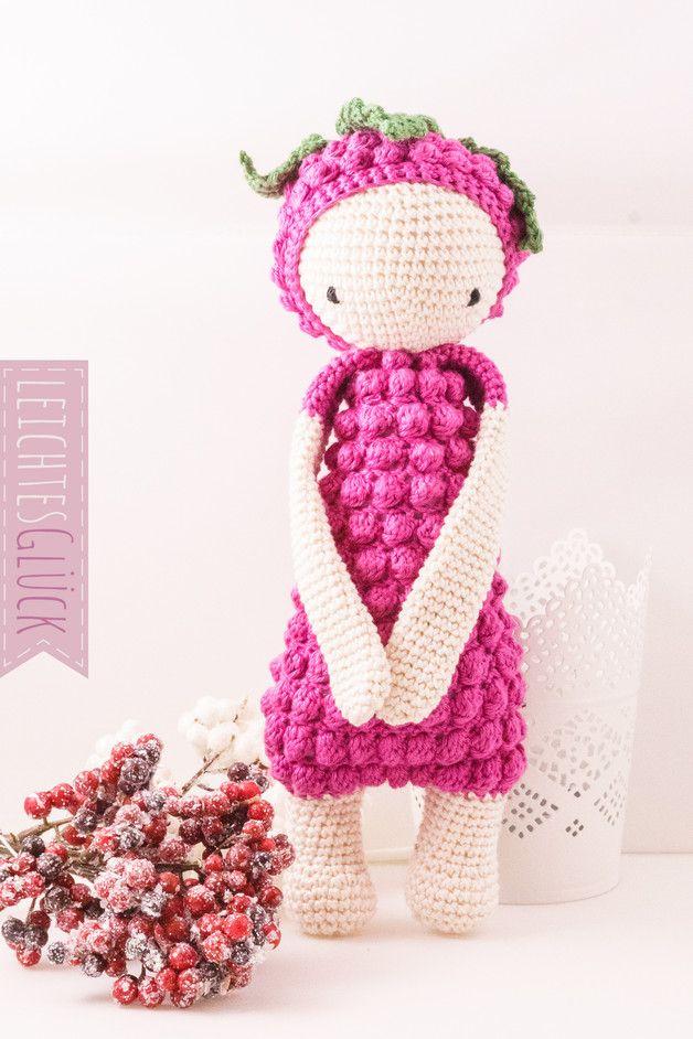 Gehäkeltes Kuscheltier nach Vorlage von Lalylala, Amigurumi / crocheted soft toy, amigurumi made by Leichtes-Glueck via DaWanda.com