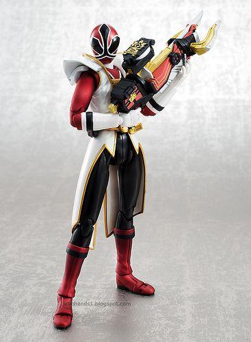 Tamashii Nations SDCC 2013 Exclusive S.H. Figuarts Power Rangers Super Samurai Metallic Coating Deluxe Action Figure Set 09