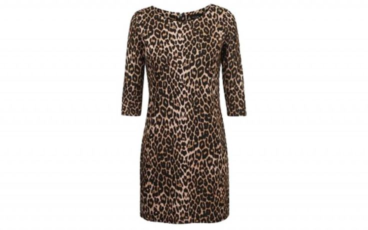 I ♥ ANIMAL - This leopard print dress would be fab with black stockings and anklebooties. Found it for only €12 >> http://www.missbudget.nl/goedkope-kleding-online/item/756-goedkope-dameskleding-online-vila-animal-print-jurk