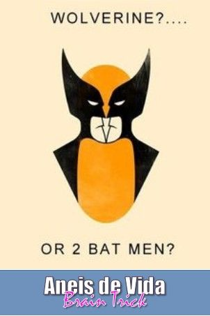 wolverine or 2 bat men?