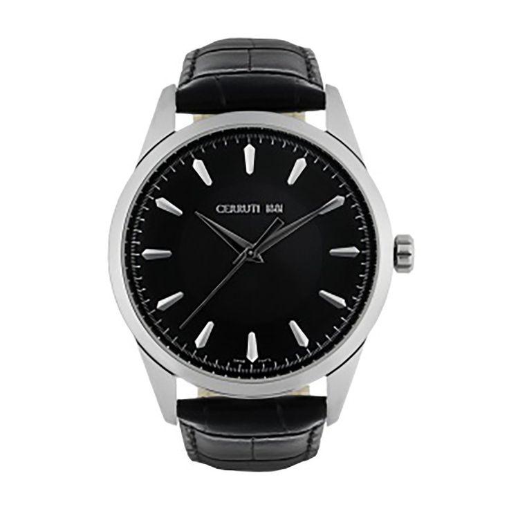 Cerruti Men's Watch, Black