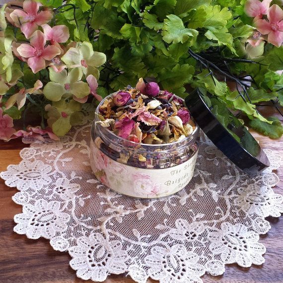 Goddess Brigid's  Herbal Blend Imbolc Offerings by TheShabbyWitch