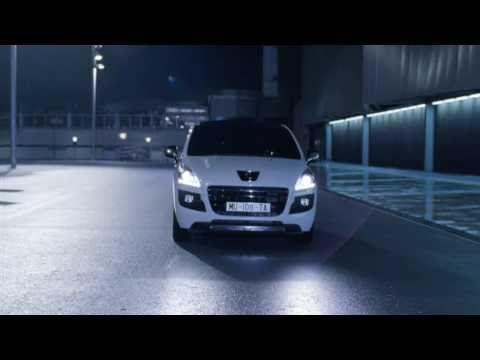 Peugeot 3008 HYbrid4 The World's First Full Hybrid Diesel advert