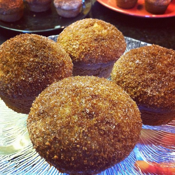 cinnamon sugar donut muffins   HoneyButterBakes Recipes   Pinterest
