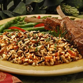 ... | White & Wild Rosemary Rice with Caramelized Onions and Mushrooms