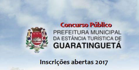 Apostila Concurso Prefeitura de Guaratinguetá 2017 - Teixeira Concursos - Apostila Concurso Opção