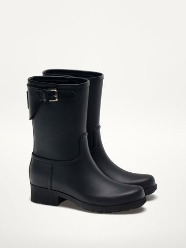 BOTA DE BORRACHA BIKER - Ver tudo - Sapatos - WOMEN - Portugal