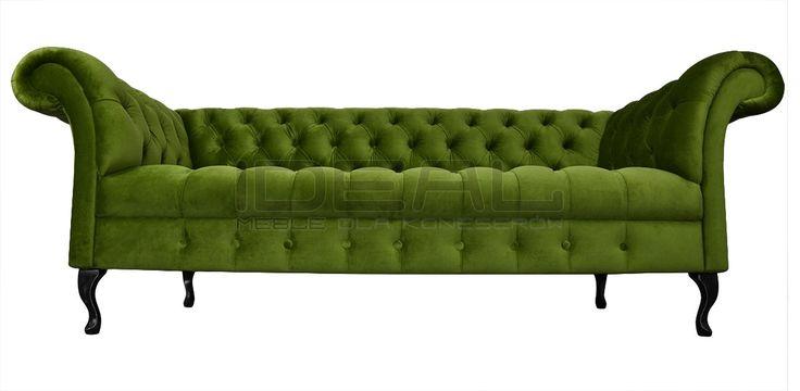 sofa_chesterfield_devon_ludwik_01_jasnozielona.jpg (1200×587)  sofa chesterfield, zielona sofa, styl angielski, green, ludwik