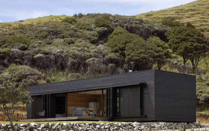 Storm Cottage, New Zealand.