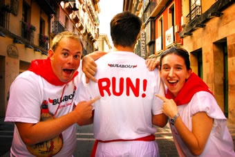 Pamplona in Spain with Busabout