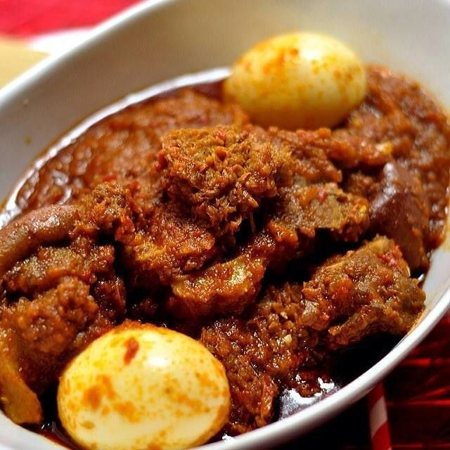 Nigerian Foods And Recipes: Spicy Nigerian Stew With Assorted Meat And Eggs http://www.nigerianfoodies.com/2016/05/spicy-nigerian-stew-with-assorted-meat.html