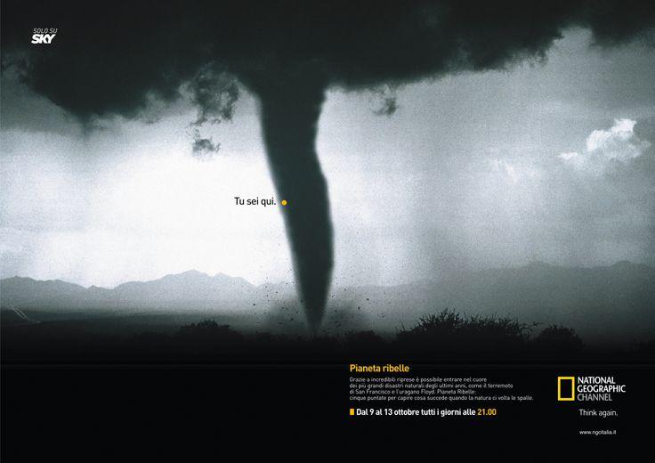 Pianeta ribelle - annuncio per National Geographic Channel