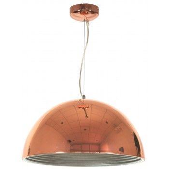 Lampa wisząca AMALFI 40 miedziana CANDELLUX 31-26392