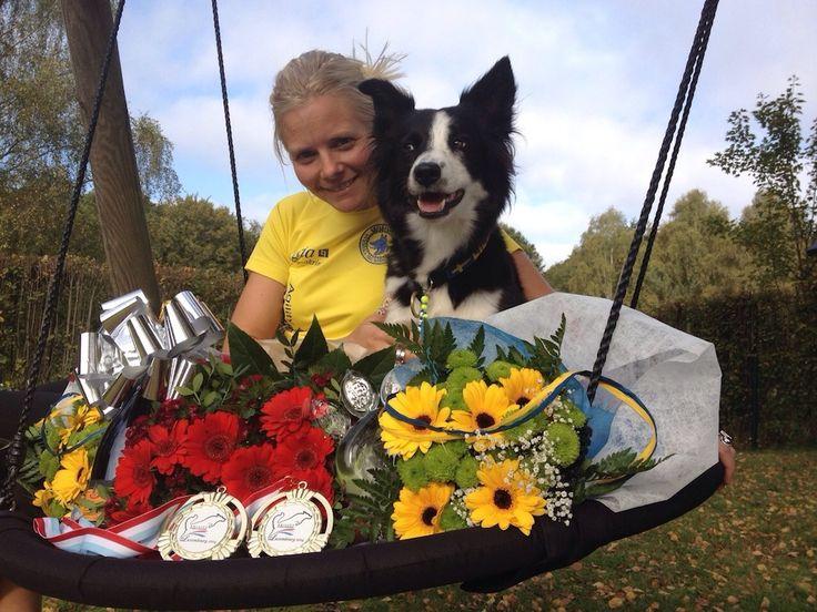 VM-succé för Jenny och Lilli