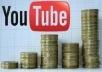 Voy a Enviarte Guía de tres pasos para Ganar Dinero Con Youtube Por $5