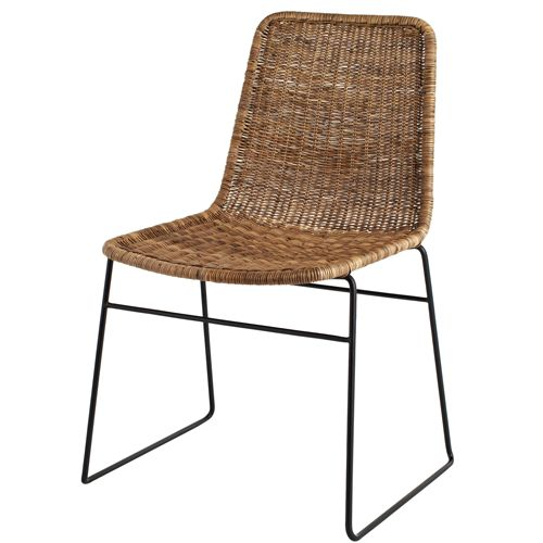 Best 25 rattan dining chairs ideas on pinterest for Dining room table with wicker chairs