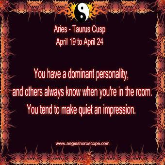 Aries - Taurus Cusp