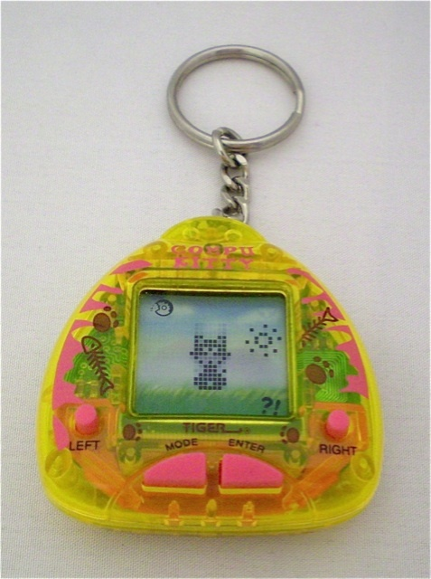 Cat Giga Pet. Had this exact one when I was little among 14 other ones.