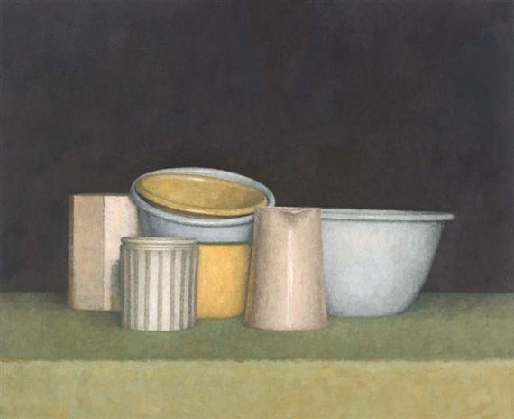Jude Rae, Contemporary, Australian artist (b.1955).  'Still Life 20' / Oil on Linen / c.1998