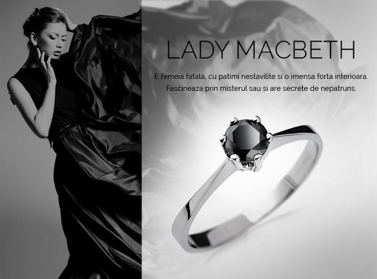 Colectia Lady Macbeth  #MadeInRomania #IneleDeLogodna www.coriolan.ro