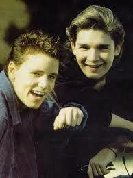 the two coreys - Corey Haim and Corey Feldman