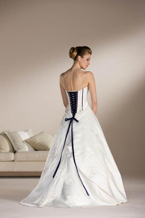 Black Wedding Dress Corset