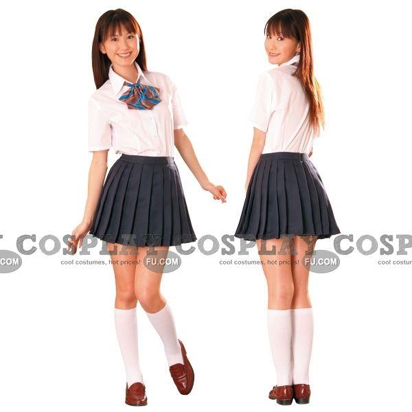 School Uniforms for Girls | Custom Japanese Uniform School Girl (Mai) - Tailor-Made Cosplay ...