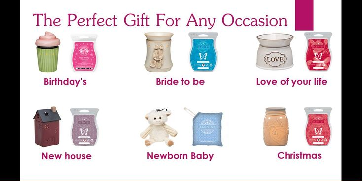 If you need to give a present for ANY reason, there is some Scentsy to fit!