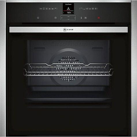 Buy Neff B57CR22N0B EasyClean® Pyrolytic Single Electric Oven, Stainless Steel Online at johnlewis.com