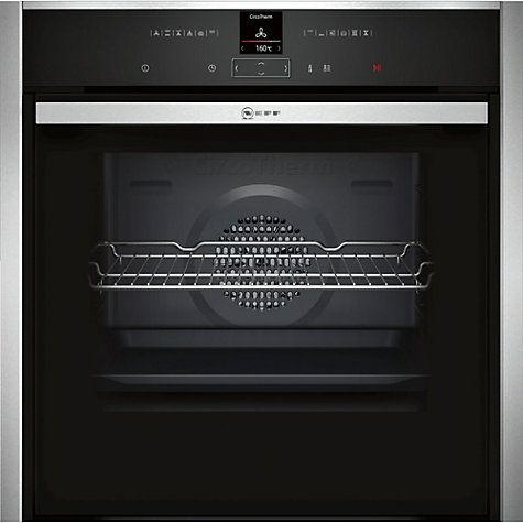 Buy Neff B57CR22N0B Pyrolytic Slide and Hide Single Electric Oven, Stainless Steel Online at johnlewis.com