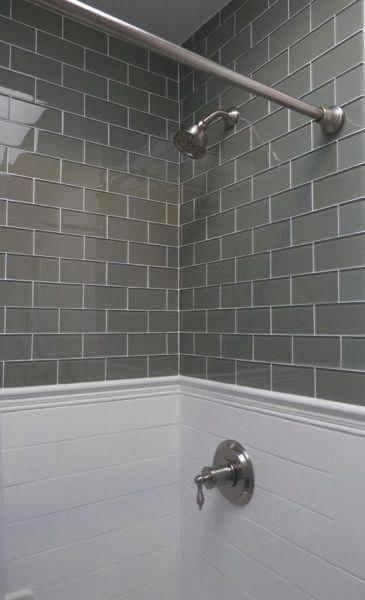 lush glass river rock taupe greige bathroomideas bathroom ideas