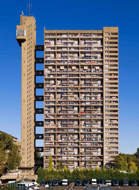 Both love and hate Trellick Tower. It has a troubled history and looks hideous as well as great. Go to the Lisboa Patisserie on Goldborne Road, buy some delicious pastries and a coffee then go and gaze at TC and see what happens.